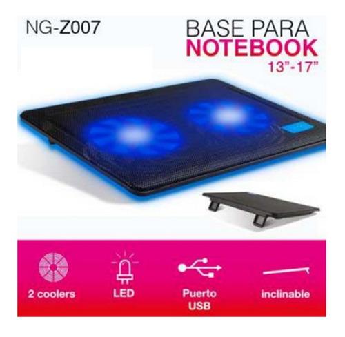 base para notebook noga net ng-z007 -  13  a 17