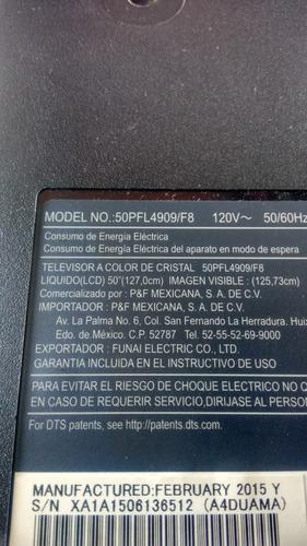 base para pantalla philips led 50pfl4909/f8