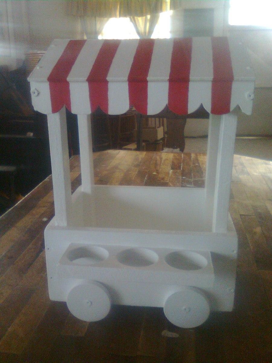 Base para ponquesitos candy bar kiosco para dulces bs for Kiosco bar madera