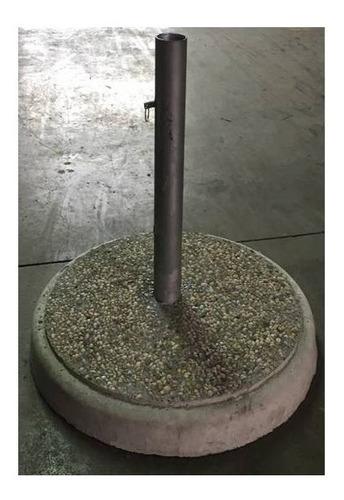 base para sombrilla 49 cm diametro-19 kilos de peso