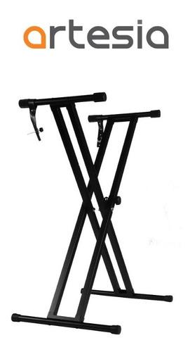 base para teclado tipo x de altura ajustable marca artesia