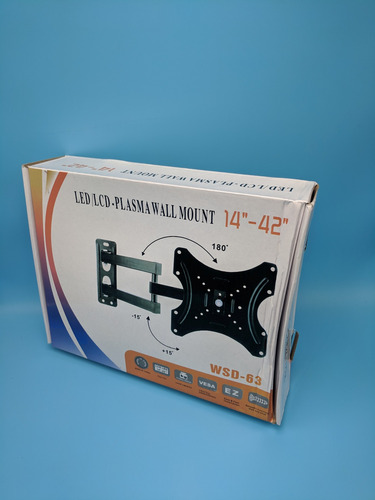 base para televisor de 14 a 42 pulgadas pared movil tv