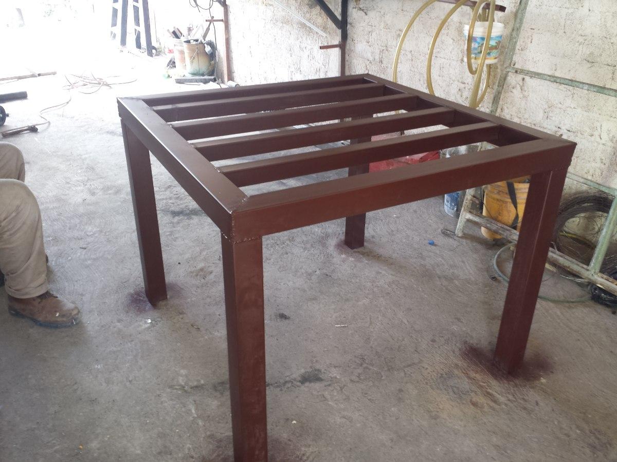 Base para tinaco de 1100 litros herreria 1 en for Tinacos rotoplas medidas