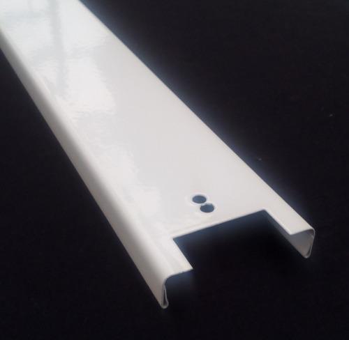 base para tubo led 120cm, t8 metálica económica y resistente