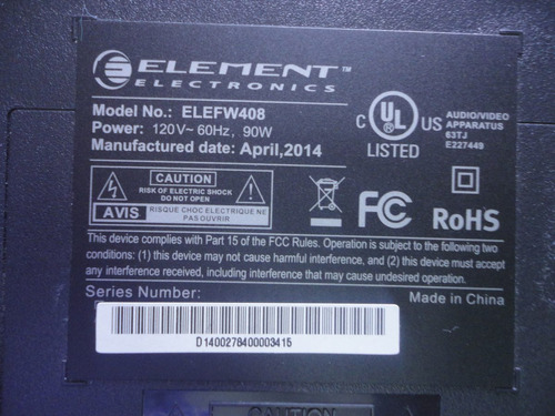 base para tv element mod.elefw408