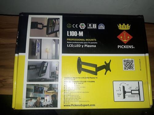 base para tv lcd led y plasma marca pickens de 10-26