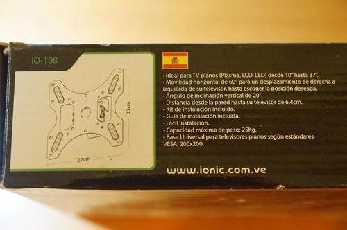 base para tv led smart de 26 27 29 32 37 pulgadas ionic