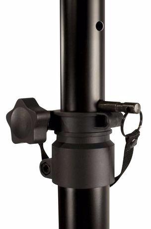 base paral tripode para cornetas universal soporta 60 kg