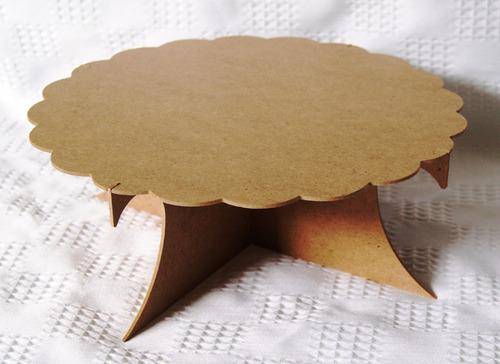 base pastelera grande mdf (12 piezas)