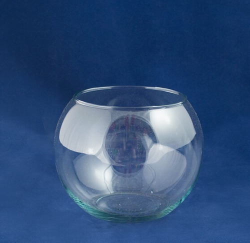 base pecera de vidrio #6 de 15cm de diámetro!!