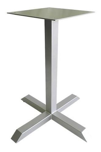 base pedestal cruz 45 para mesas restaurantes y comedores