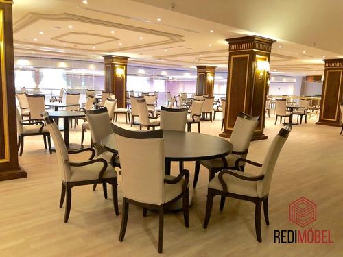 base pedestal para mesa de restaurante