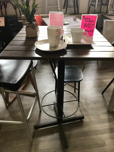 base pedestal para mesas de restaurante
