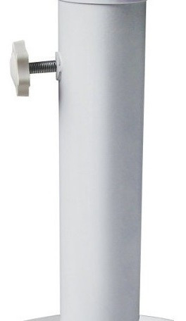 base plástica oca p/ guarda-sol, ombrelone com adaptador