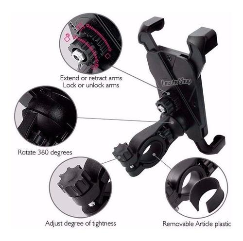base porta celular soporte bicicleta moto motocicleta holder