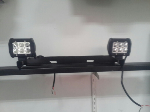 base porta faro doble led de placa ar4x4 somos fabricante