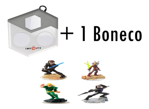 base portal disney infinity 1.0 2.0 3.0 xbox 360 + 1 boneco