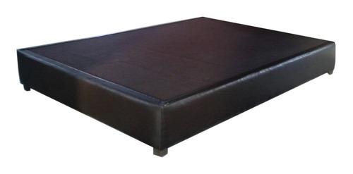 base queen size tipo box tapiz quin quen sais cama recamara
