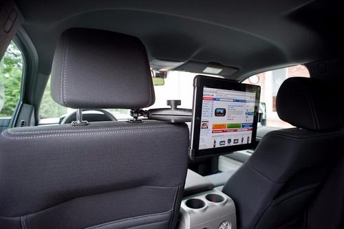 base ram mounts tubo de respaldo de asiento para auto