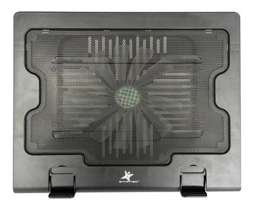 base refrigerante star tec st-cp-16 ventilador negro