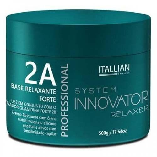 base relaxante guanidina forte itallian  500g profissional