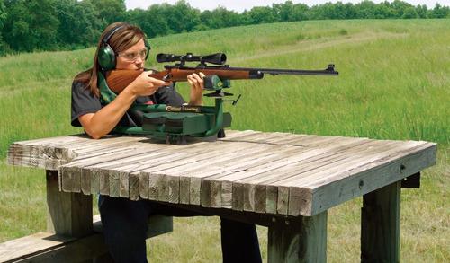 base reposa rifle caldwell sled plus para alinear y calibrar