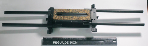 base rod rail sistem camera cinema p/ nikon canon matte box
