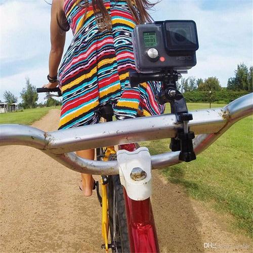 base roll bar gopro bicicleta volantes camara extreme
