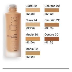 Base Sérum Nude Me Natura - mL a $1667