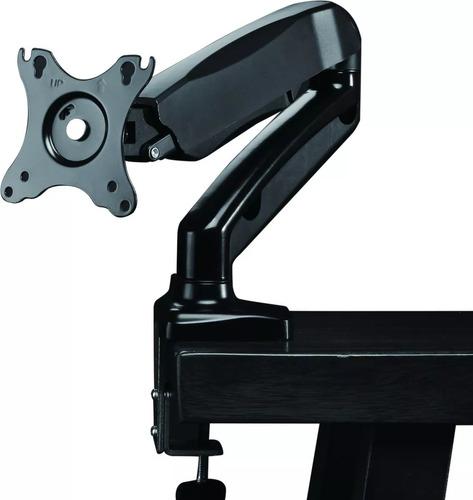 base soporte brazo monitor escritorio sistema gas hasta 27