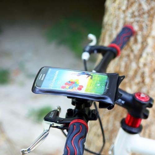 base soporte dicapac waterproof bicicleta iphone celulares