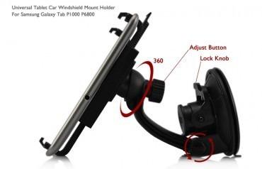base soporte fijador adaptador para fijar en el carro tablet