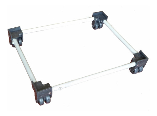 base soporte  lavadora estufa doble rueda 80 x 80
