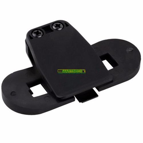 base soporte o clip para intercomunicador moto t-com