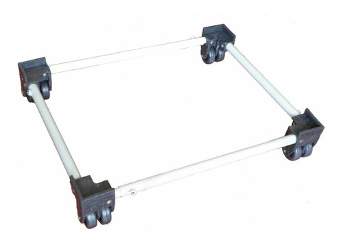 base soporte para estufa nevera lavadora doble rueda oferta