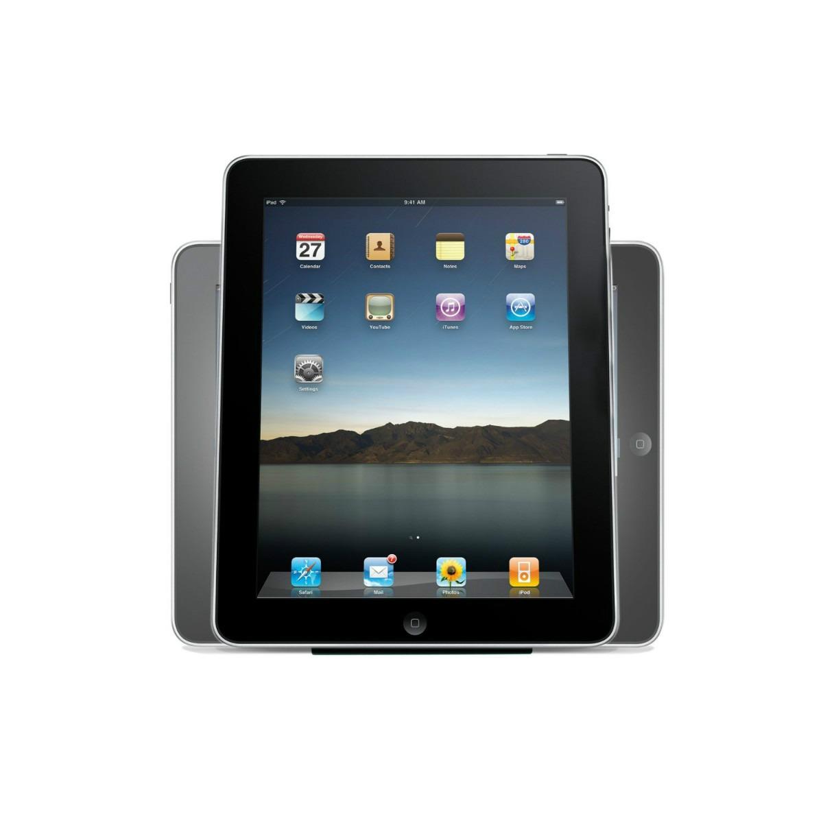 Base soporte para tablet de 10 pulgadas en for Soporte tablet pared