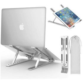 Base Soporte Portátil Laptop Plegable Aluminio Ergonómica