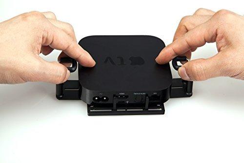 base soporte universal para apple tv 2/3 roku 1/2/lt fire tv