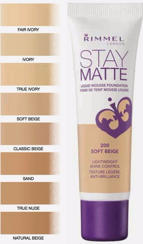 base stay matte de rimmel london