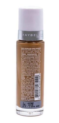 base super stay maybelline - 110 caramel dark 30ml