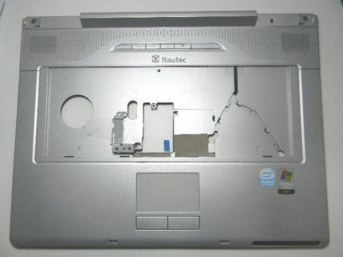 base superior c/touchpad itautec - model w7645 cód 260.1