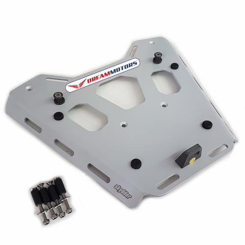 base / suporte alumínio baú monokey bmw r1200gs r 1200 gs lc