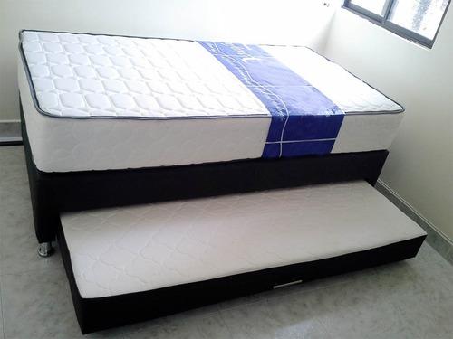 base tarima duo 1.00x1.90 obsequio almohadas