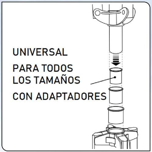 base tendedero tender calesita giratorio ropa reforzado gimi - resiste lluvia y sol - hay stock