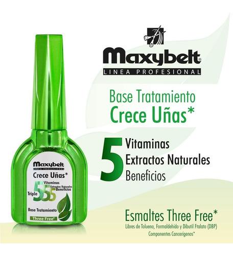 base tratamiento para uñas maxybelt 555