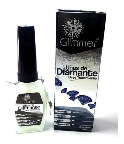 base uñas de diamante calcio biotina vitamina v5 15ml