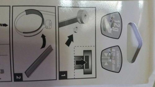 base universal zefal para colocar el porta termo (/)