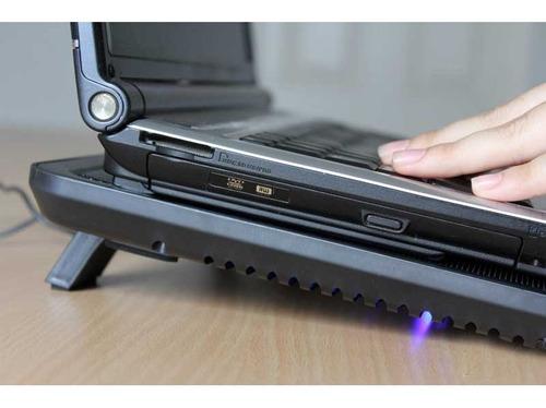 base ventilada para notebook até 15 polegadas