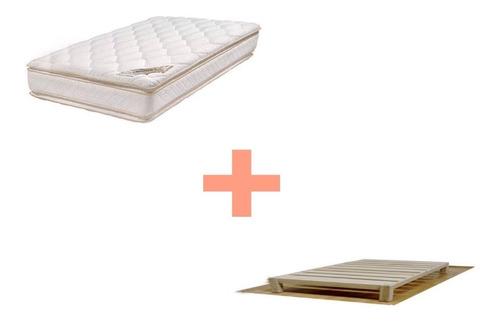 base y colchón doble colchoneta individual querétaro y sjr