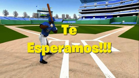 Baseball Béisbol Vídeo Tarjeta De Invitación Para Whatsapp